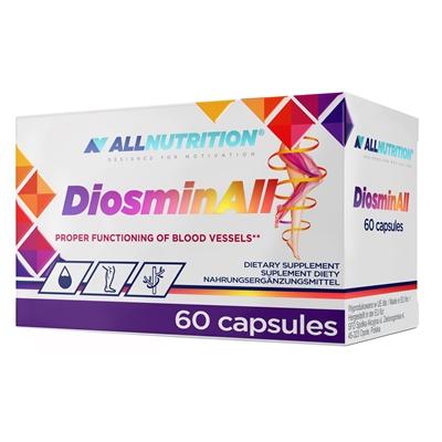 Diosmina (300 mg) + Hesperidina + Vitamina C, DiosminAll - 60 capsule (60 doze) [0]