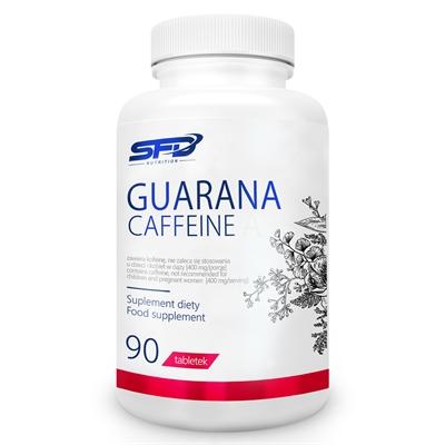 Supliment Alimentar, Guarana (455 mg) + Cafeina - 90 comprimate (45 doze) [0]