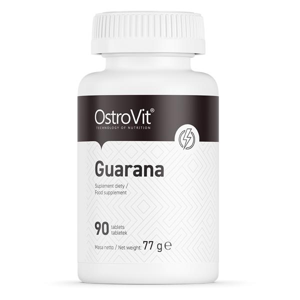 Supliment alimentar, OstroVit Guarana, 500mg (standardizat 110 mg cofeina) - 90 comprimate (90 doze) [0]