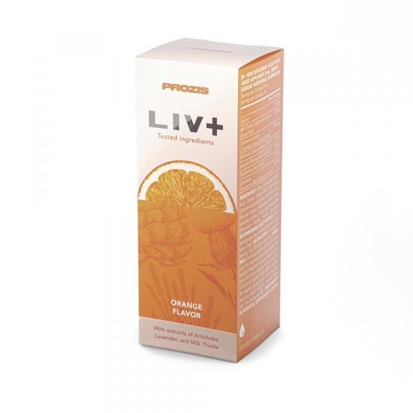 Hepatoprotector, Liv Plus, 30 ml, (Orange) [0]