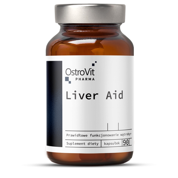 Complex Hepatoprotector, Detoxifierea si Functia Ficatului, OstroVit Pharma Liver Aid - 90 capsule (30 doze) [0]