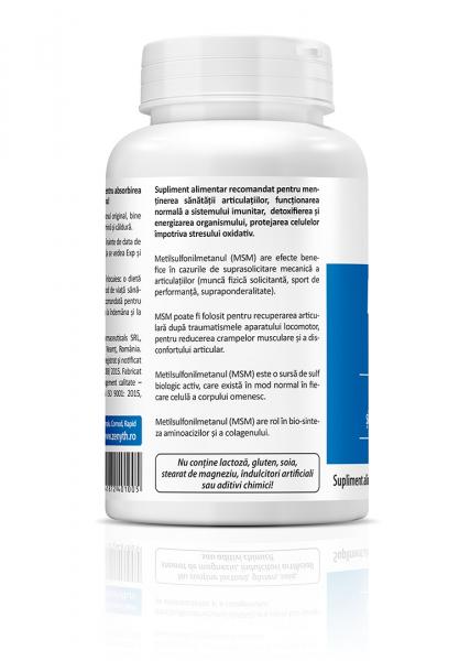 Supliment alimentar, MSM 500 (500 mg) - 60 capsule [1]