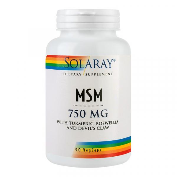 Supliment alimentar, MSM (750 mg) - 90 capsule [0]
