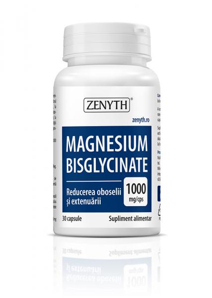 Supliment alimentar, Magnesium Bisglycinate - 30 capsule [0]