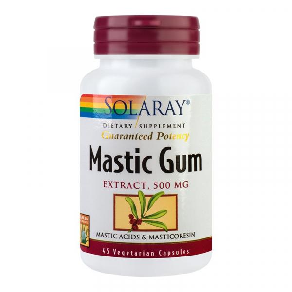 Supliment alimentar, Mastic Gum (500 mg) - 45 capsule [0]