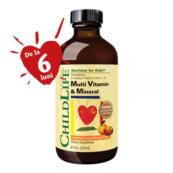 Multi Vitamin & Mineral 237ml (gust de portocale/mango) [0]