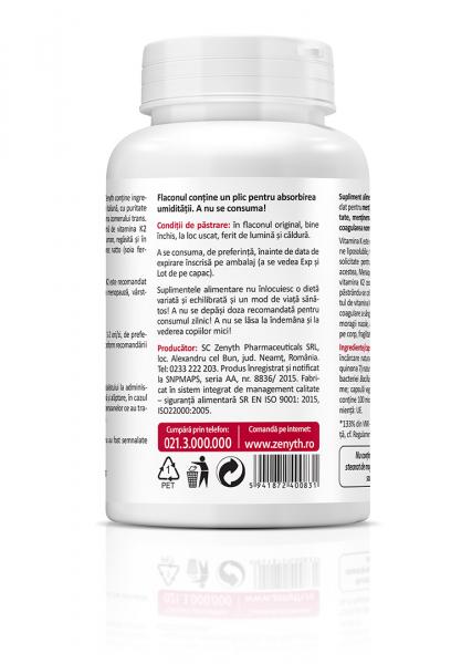 Natural Vitamin K2 (100 mcg) - 60 capsule [2]