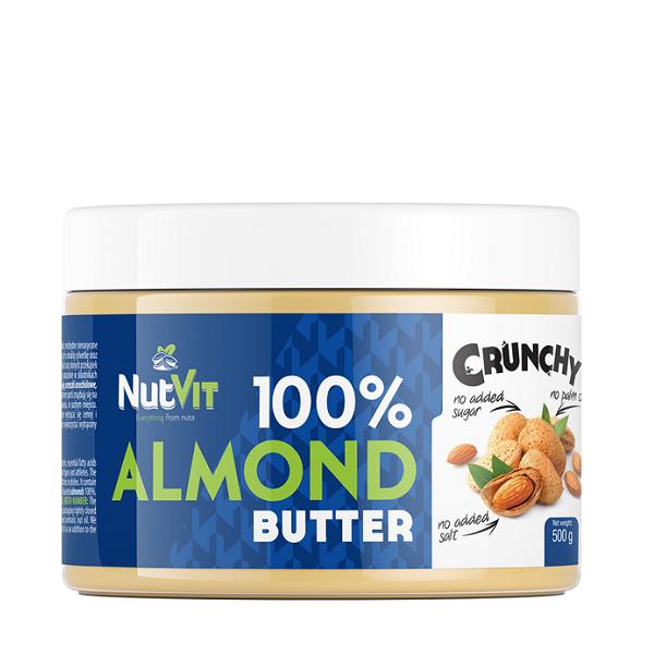 Unt de Migdale, NutVit 100% Almond Butter - 500 g (Vegan, Vegetarian) [0]