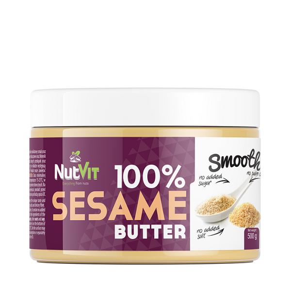 Unt de Susan, NutVit 100% Sesame Butter - 500 g (Vegan, Vegetarian) [0]