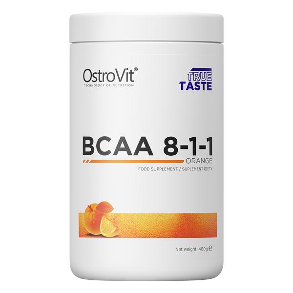 Supliment alimentar, OstroVit Supreme Pure BCAA 8-1-1 (3200 mg) - 400 g (80 doze) [0]