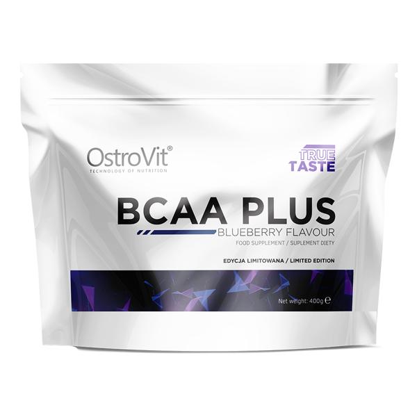 Supliment alimentar, OstroVit BCAA 2:1:1 Plus cu L-Taurina si L-Glutamina - 400 g (28 doze) [0]