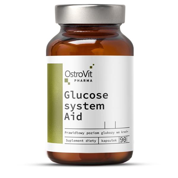 Complex pentru Metabolism si Reglarea Glicemiei, OstroVit Pharma Glucose System Aid - 90 capsule (30 doze) [0]