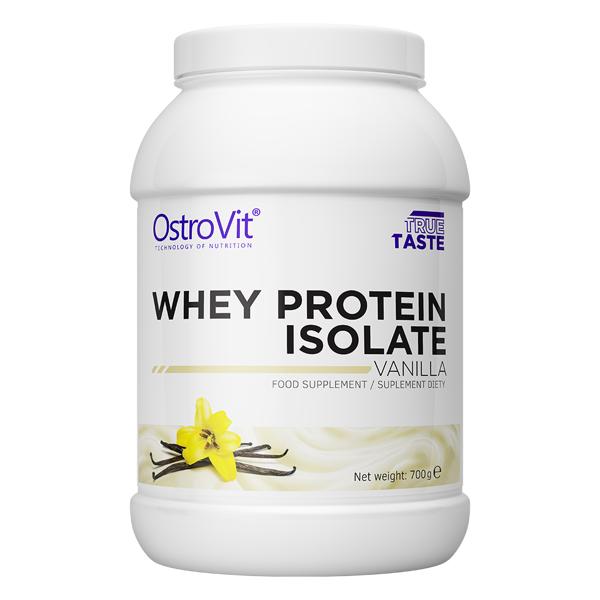 Izolat Proteic din Zer (Proteina), OstroVit Whey Protein Isolate - 700 g (23 doze) - Vanilla [0]