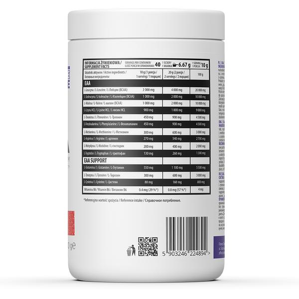 Supliment alimentar, Aminoacizi Esentiali, Ostrovit EEA - 400 g (40 doze) [1]