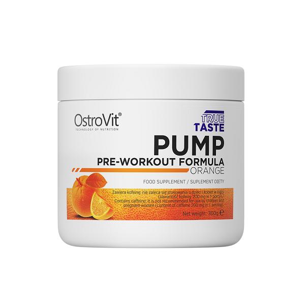 Supliment alimentar, OstroVit PUMP Pre-Workout Formula - 300 g (30 doze) [0]