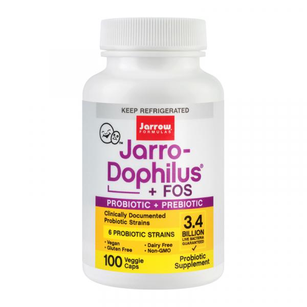 Probiotice Jarro-Dophilus+FOS 100cps [0]
