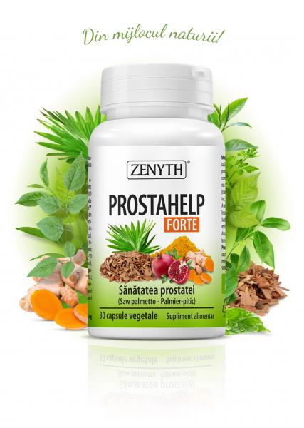 Supliment alimentar, ProstaHelp Forte - 30 capsule vegetale [0]