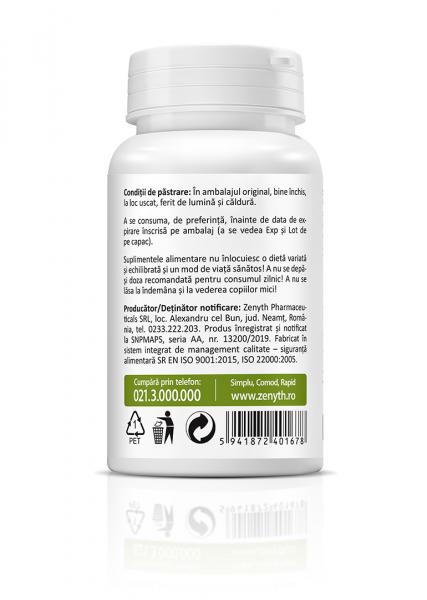 Supliment alimentar, Quercetin (500 mg) - 30 capsule vegetale [2]