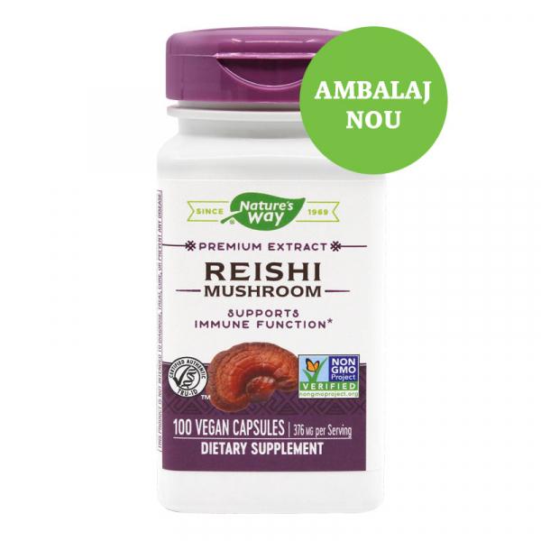Supliment alimentar, Reishi SE (188 mg) - 100 capsule [0]