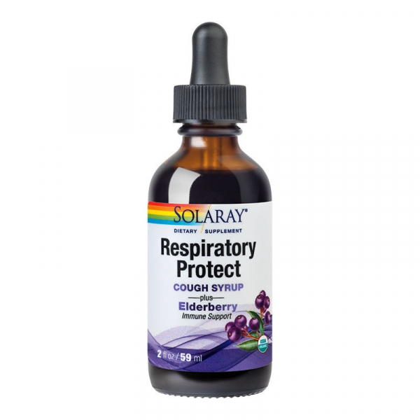 Complex pentru Imunitate, Solaray Cough Syrup - 59 ml [0]
