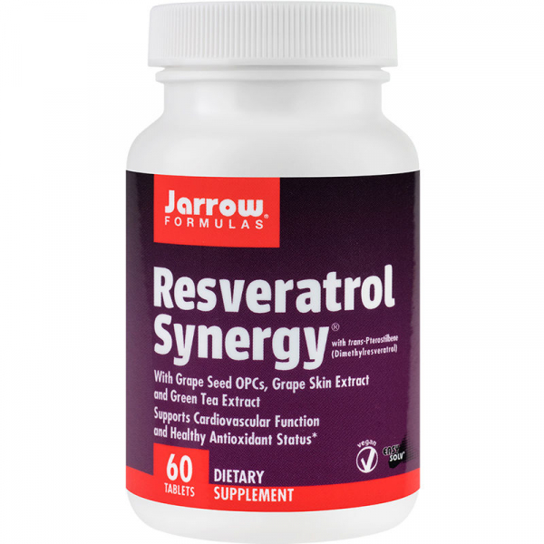 Resveratrol Synergy 60 tablete [0]
