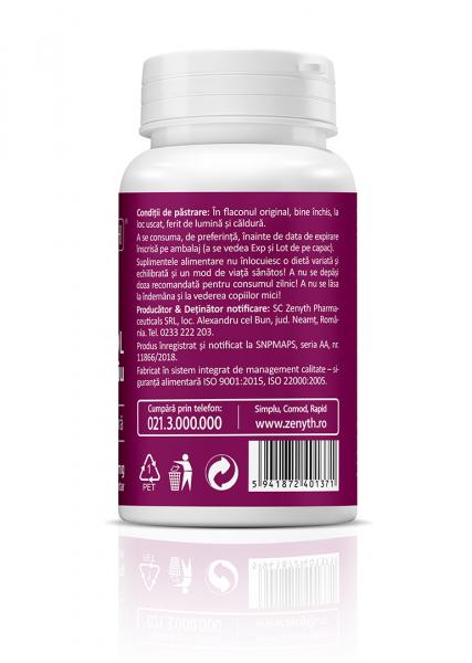 Supliment alimentar, Resveratrol cu Seleniu  (450 mg) - 30 capsule [2]