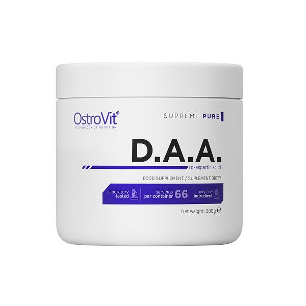 Acid D-Aspartic, OstroVit Supreme Pure D.A.A - 200 g (66 doze) [0]