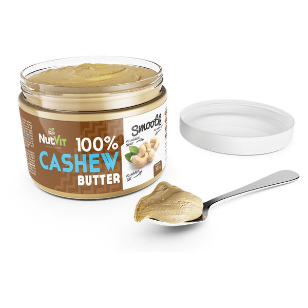 Unt de Caju, NutVit 100% Cashew Butter - 500 g (Vegan, Vegetarian) [1]