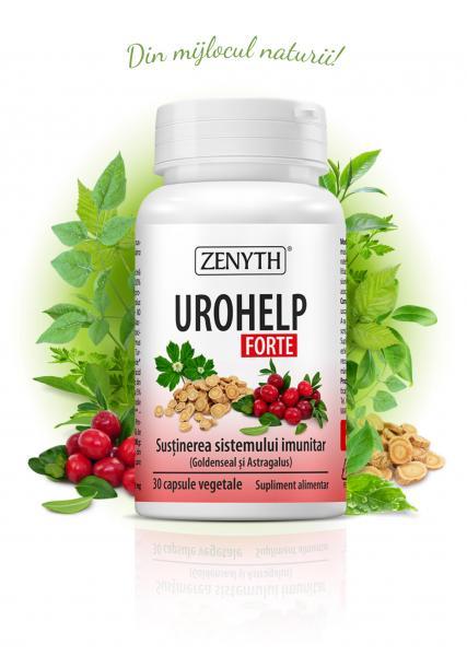 Supliment alimentar, UroHelp Forte - 30 capsule vegetale [0]
