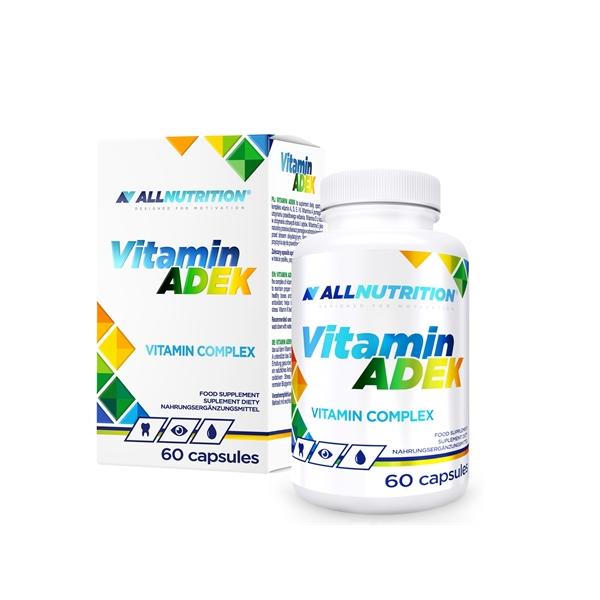 Complex de Vitamine, Vitamina A, D, E, K, Vitamin ADEK - 60 capsule (60 doze) [0]