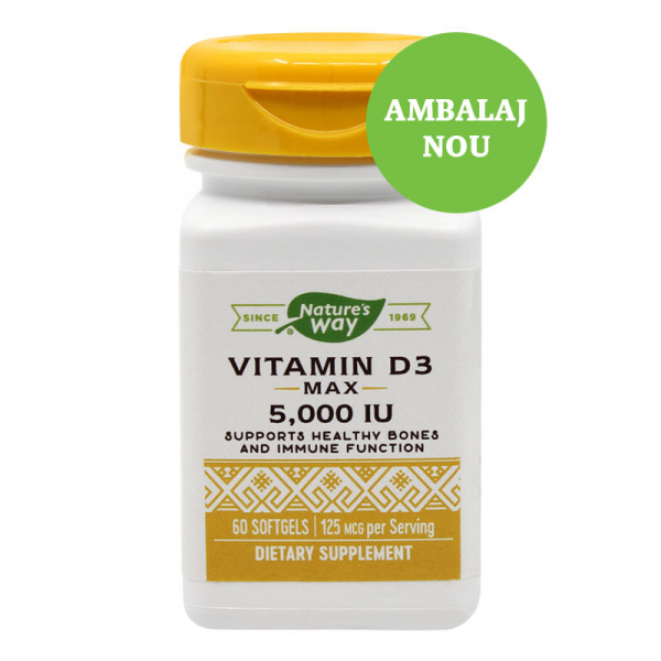 Vitamina D3 5000UI 60 cps [0]