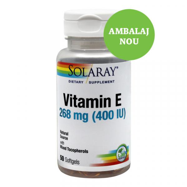 Vitamin E 400UI 50 capsule moi [0]