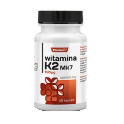 Supliment alimentar, Vitamina K2 - MK7, Vitamin K2 - MK7, 150 mcg - 60 capsule (60 doze) [0]