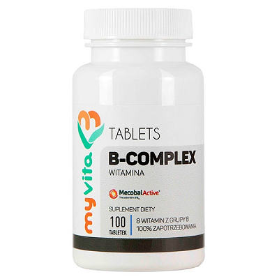 Supliment alimentar, Complexul de Vitamina B, B Complex - 100 comprimate (100 doze) [0]