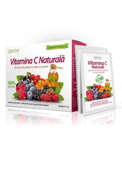 Supliment alimentar, Vitamina C Naturala (5 g) - 28 plicuri. [2]