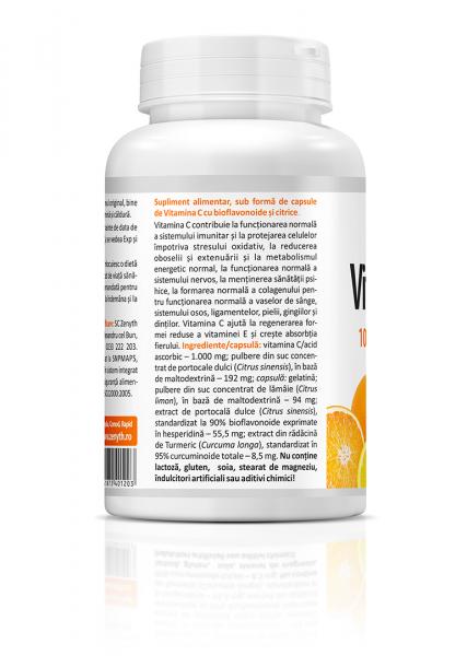 Vitamina C Premium cu citrice (1000 mg) - 60 capsule [1]