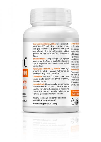 Vitamina C Premium cu citrice (1000 mg) - 60 capsule [3]