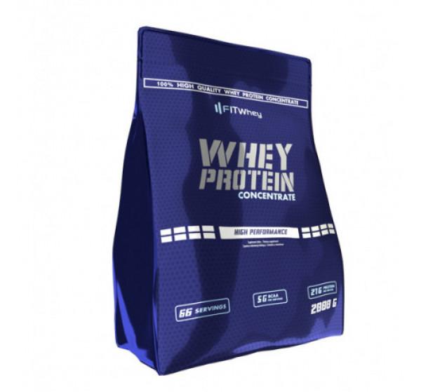 Proteina din Zer, Whey 100 Concentrate  - 2000 g (67 doze)  - Ciocolata [0]
