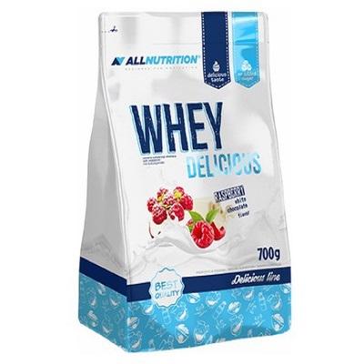 Proteina din Zer, 100% Whey Delicious - 700 g (23 doze)  - Ciocolata/Zmeura [0]