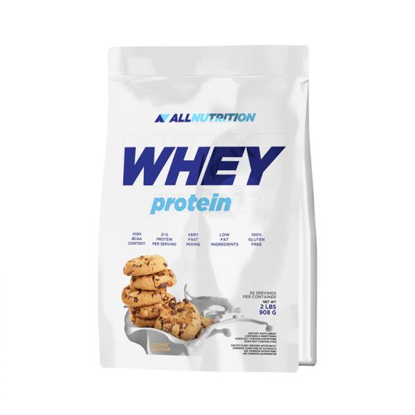 Proteina din Zer, 100% Whey Protein - 908 g (30 doze) - Cookies [0]