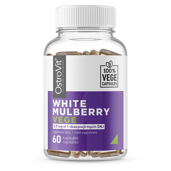 Supliment alimentar, Extract de Dud Alb, OstroVit White Mulberry Vege - 60 capsule (60 doze) [0]