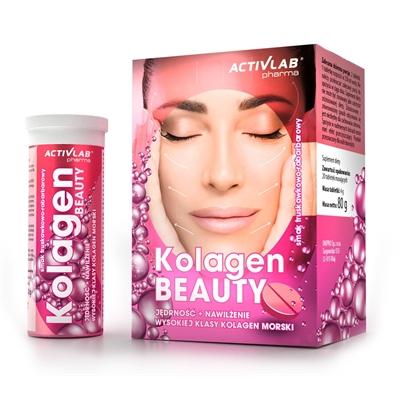 Supliment alimentar, Colagen cu Acid Hialuronic, ActivLab Pharma Collagen Beauty - 20 tablete efervescente (10 doze) [0]