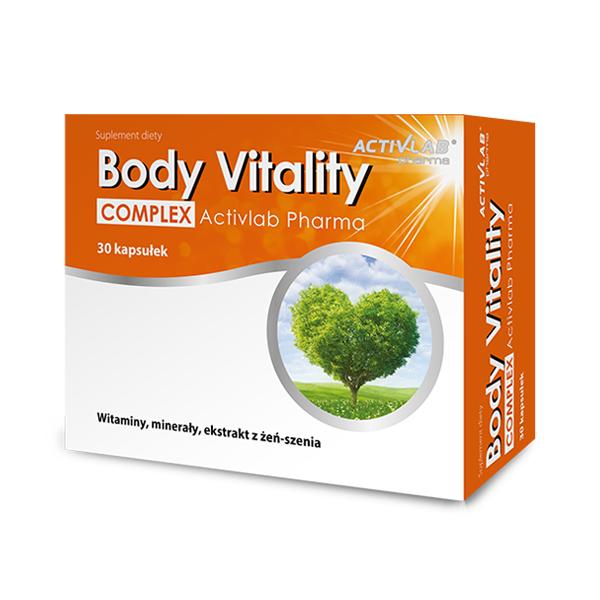 Supliment alimentar, Complex de Vitamine si Minerale cu Extract de Ginseng, ActivLab Pharma Body Vitality Complex - 30 cpasule (30 doze) [0]