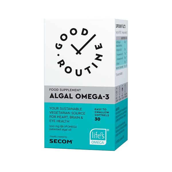 Supliment alimentar, Algal Omega-3 - 30 capsule [0]