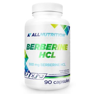 Supliment alimentar, AllNutrition Berberine HCL (Standardizat 98% Berberina HCI) - 90 capsule (90 doze) [0]