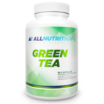 Extract de Ceai Verde - 1000 mg (din care polifenoli - 500 mg), AllNutrition Green Tea - 90 capsule (90 doze) [0]