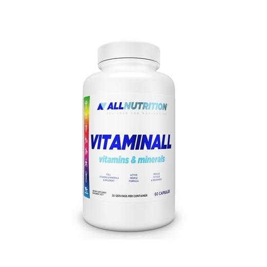 Complex de Vitamine si Minerale cu 22 de Ingrediente Active, AllNutrition VitaminAll - 60 capsule (30 doze) [0]