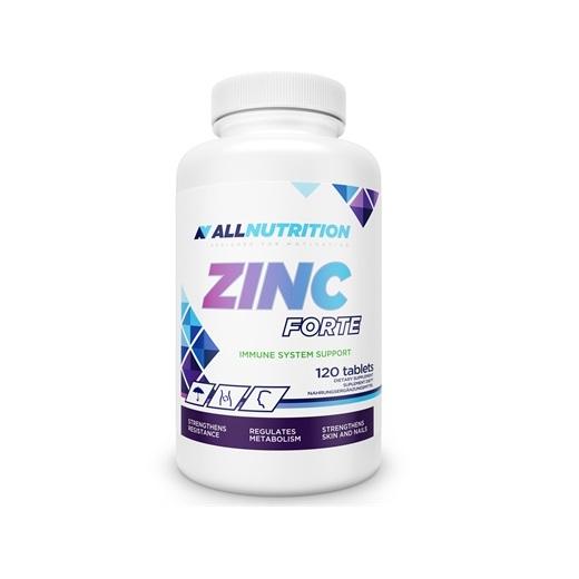 Supliment alimentar, Zinc, AllNutrition Zinc Forte - 120 capsule (120 doze) [0]