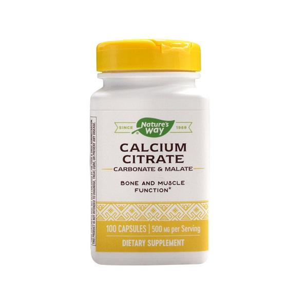 Supliment alimentar, Calcium Citrate Complex (500 mg) - 100 capsule [0]