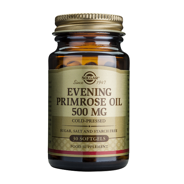 Supliment alimentar, Ulei de Luminita Noptii, Solgar Evening Primrose Oil (500 mg) - 30 capsule [0]